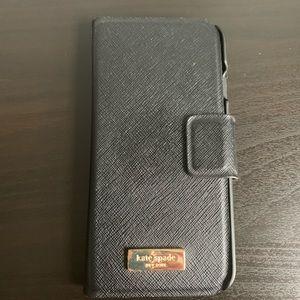 Kate spade folio iPhone case